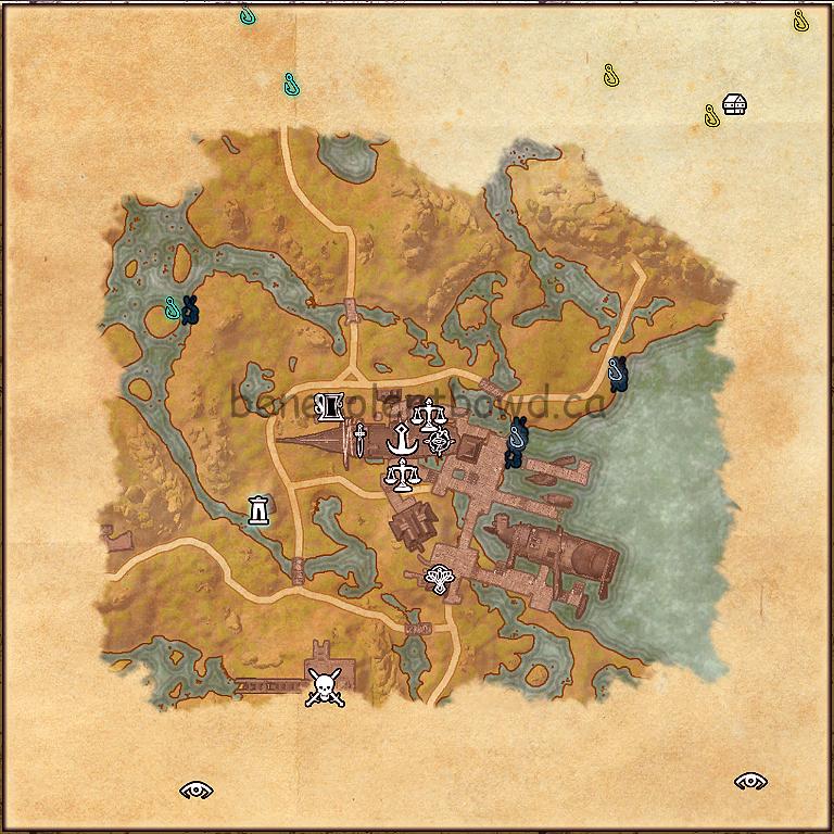 Alten Corimont Fishing Map