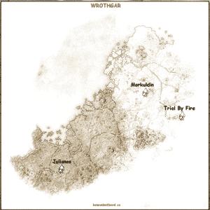 Wrothgar Crafting Locations