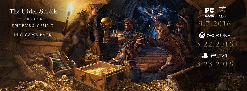 Thieves' Guild DLC Dates