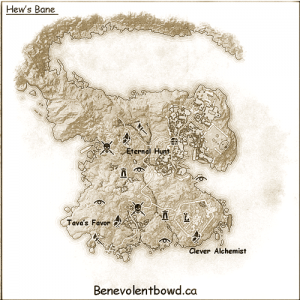 Hew's Bane Crafting Locations