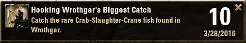 Wrothgar's Biggest Catch