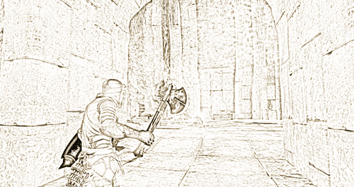 Exploring Belarata Ruins