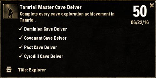 tamriel master cave delver