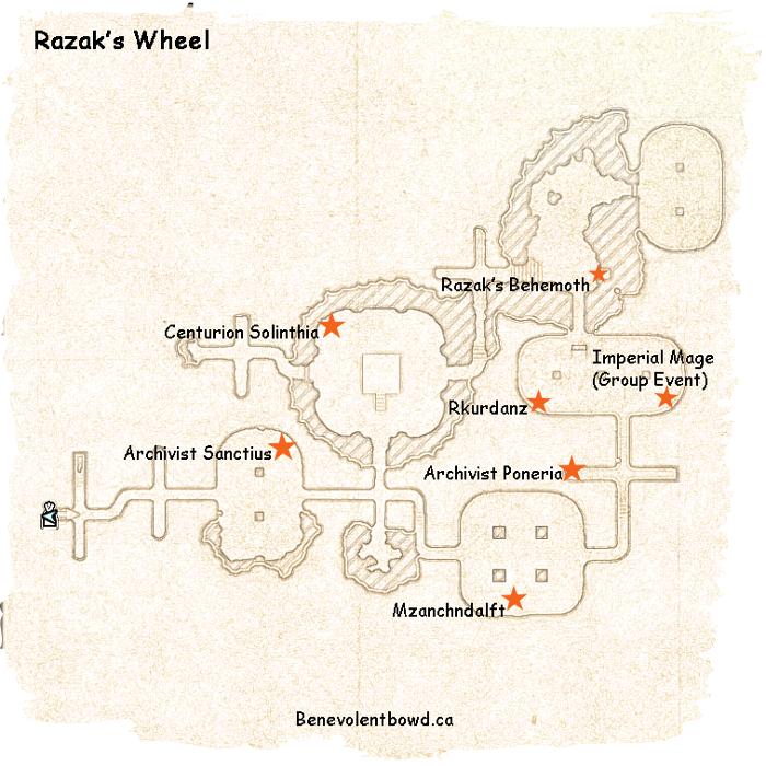 Esotu Public Dungeon Razak S Wheel Benevolentbowd S