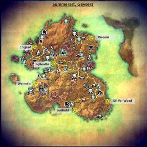 ESO Summerset Geyser Locations