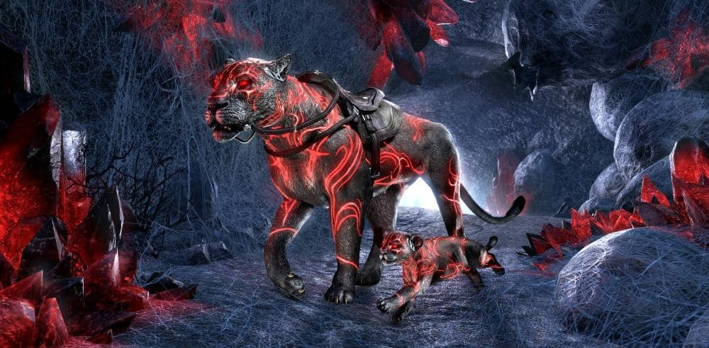 Twitch Drop Exclusive Mount and Pet Image.