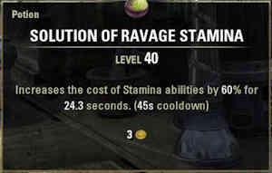 Ravage Stamina