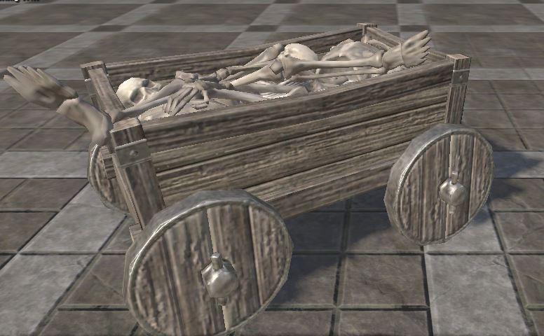 Minecart, Skeletal Remains 8,000g