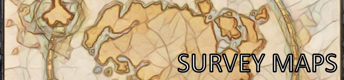ESO Survey Map Locations Compendium
